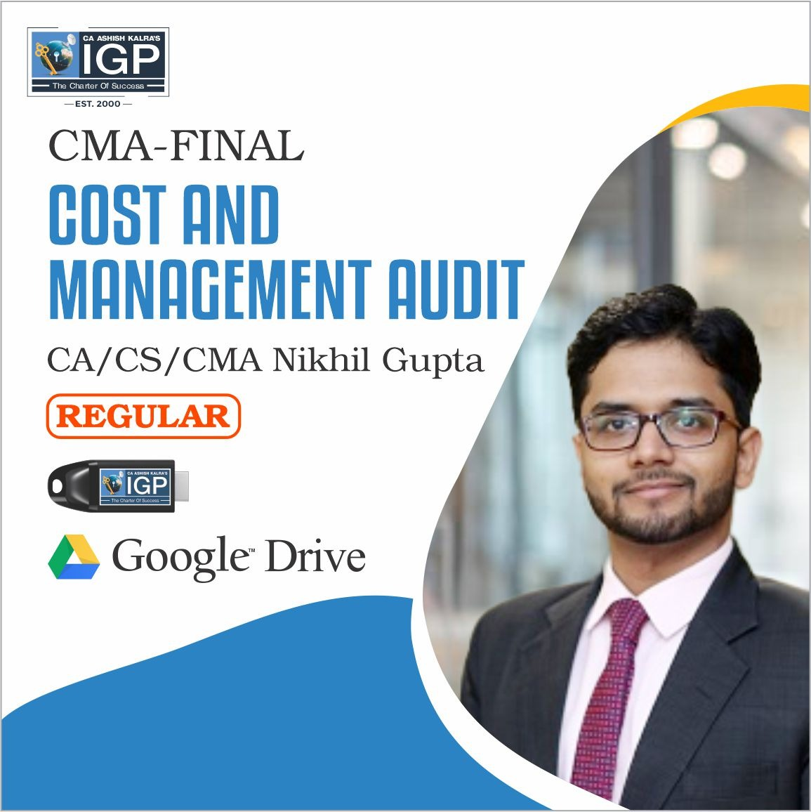 CMA-COST AND MANAGEMENT AUDIT-CA/CS/CMA NIKKHIL GUPTA